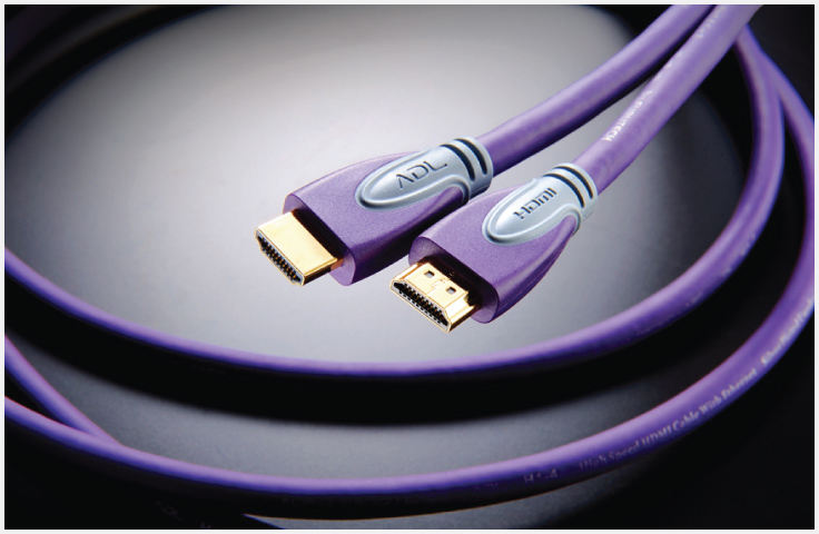 ADL HDMI-H1-4 High Speed HDMI Cable